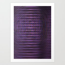Violet Rays II Art Print
