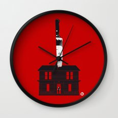 Halloween (Red Collection) Wall Clock