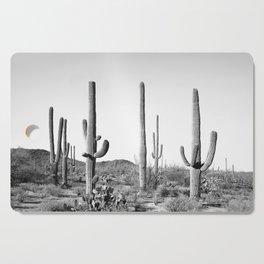 Grey Cactus Land Cutting Board