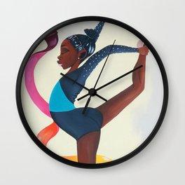 Little Gymnast Wall Clock