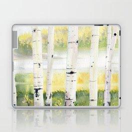 Behind The Birch Trees Laptop & iPad Skin