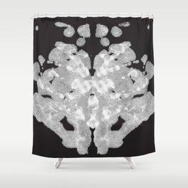 Rorschach Inkblot Test Shower Curtain