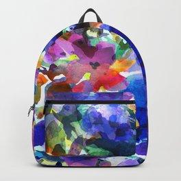 Royal Blue Garden Backpack