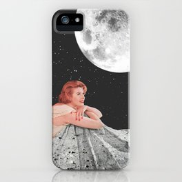 Moon Blanket iPhone Case