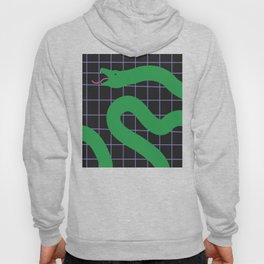Snake on Grid Hoody