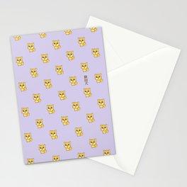 Hachikō, the legendary dog pattern Stationery Cards