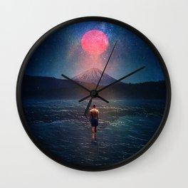 Following The Night Wall Clock
