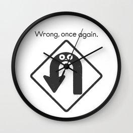 Auto Correct Wall Clock