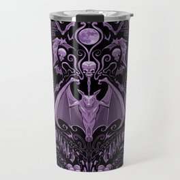Bats and Beasts (Purple) Travel Mug