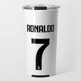 Ronaldo 7 Juve Travel Mug