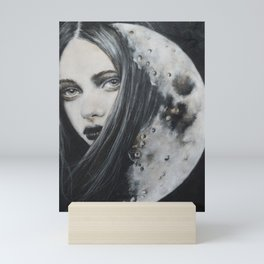 Weeping Heart and the Moon Mini Art Print
