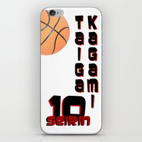 kuroko iPhone & iPod Skins featuring Kagami taiga by Selis Starlight
