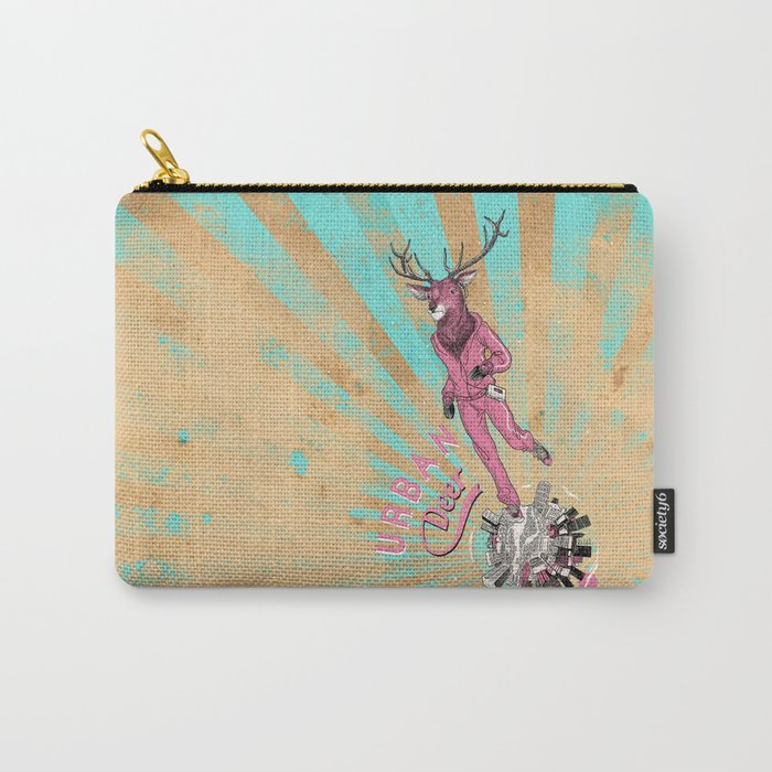 Urban Deer Carry-All Pouch