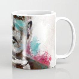 Marlon Brando under brushes effects Coffee Mug