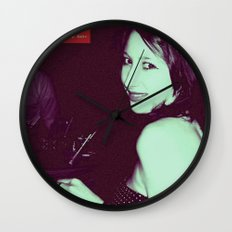 Glamour Photography Wall Clock