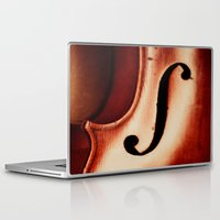 violin Laptop & iPad Skins featuring Violin by Maite Pons