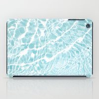 pool iPad Cases featuring Pool by Claire Jantzen