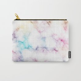 Rainbow Marble Pattern Carry-All Pouch