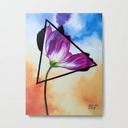 Twisted Tulip Metal Print