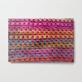 Crochet Grannysquare #2 Metal Print