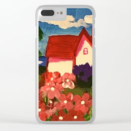 Pretty house Clear iPhone Case