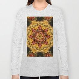 Ruby Fractal Long Sleeve T-shirt