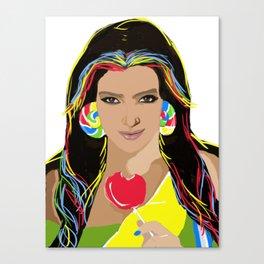Kim Kandy Canvas Print