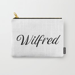 Name Wilfred Carry-All Pouch