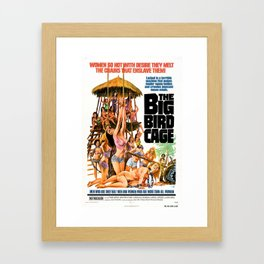 The Big Bird Cage Framed Art Print