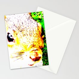 The many faces of Squirrel 1 Stationery Cards