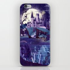 Never a Quiet Year at Hogwarts iPhone Skin