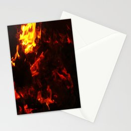 Red Hot FIre Stationery Cards