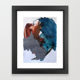 I've been to that place Framed Art Print