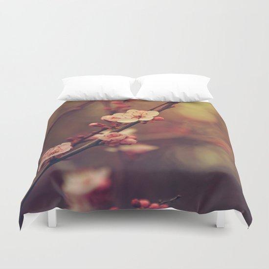 Beauty of Cherry Blossom Duvet Cover