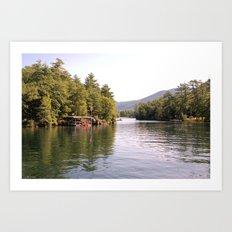 Beautiful Lake George Art Print