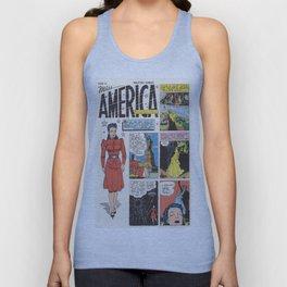 Miss America Quality Comics Unisex Tank Top