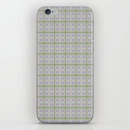 Spring Garden Violet Flowers iPhone Skin