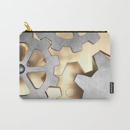 Abstract with the gears Carry-All Pouch
