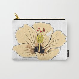 Hawaiin Hibiscus Flower Carry-All Pouch