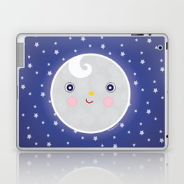 Happy Moon Man Laptop & iPad Skin