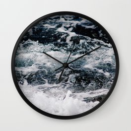 SEA - OCEAN - WAVES - WATER - NATURE Wall Clock