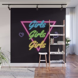 Girls girls girls Wall Mural