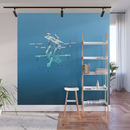 Anatomy of a Drone Wall Mural