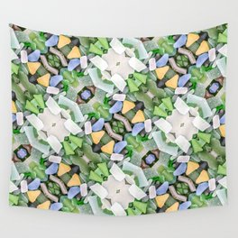 Sea Glass 14 Wall Tapestry
