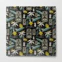 Island Tiki - Black by heatherduttonhangtightstudio