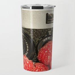 Raspberry Rollei Travel Mug