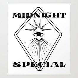 Midnight Special Art Print