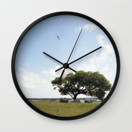 The tree at Exit 6 Wall Clock