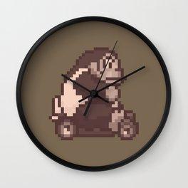 Pixelated Super Mario Kart - Donkey Kong Wall Clock