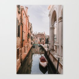 Wandering in Venise Canvas Print